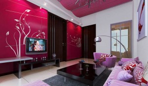Interior-decoration-red