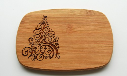 Wooden-board-engraved